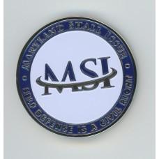 MSI Challenge Coin (undated)